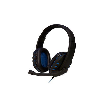 Headset Gamer Bit OEX Preto/Azul