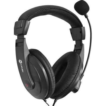 Headset Go Play Preto com Microfone