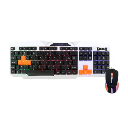 Teclado e Mouse Gamer Ice OEX