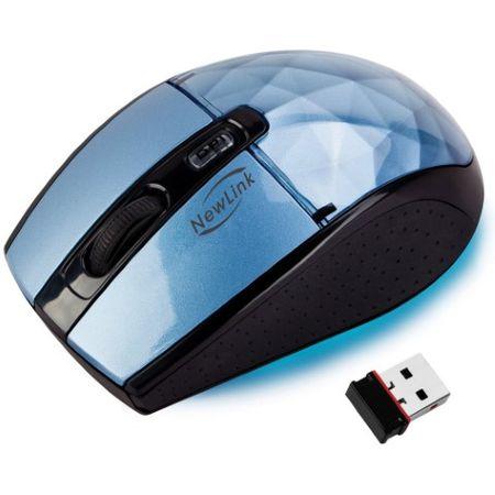 Mouse sem Fio Diamond Blue NewLink