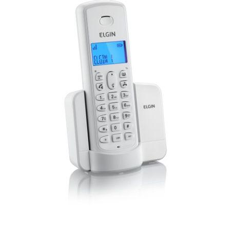 Telefone Sem Fio Elgin TSF8001 Branco