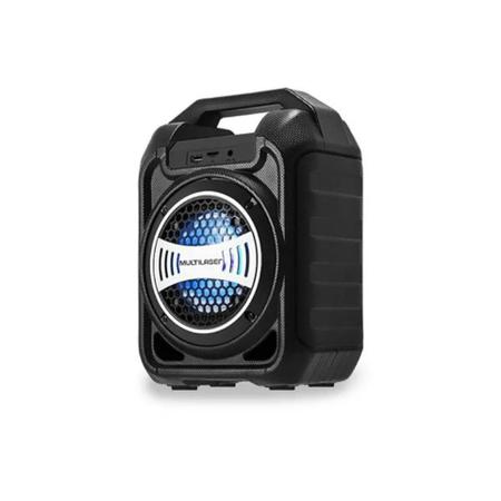 Caixa de Som Bluetooth com Alça, Radio FM e Microfone - 30W Multilaser SP313