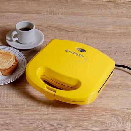 Sanduicheira Minigrill Cadence Colors Amarela 220V