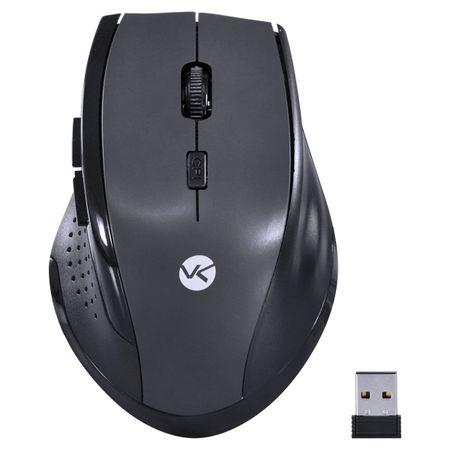 Mouse sem Fio Híbrido 2.4 GHZ e Bluetooth DM122 - Vinik