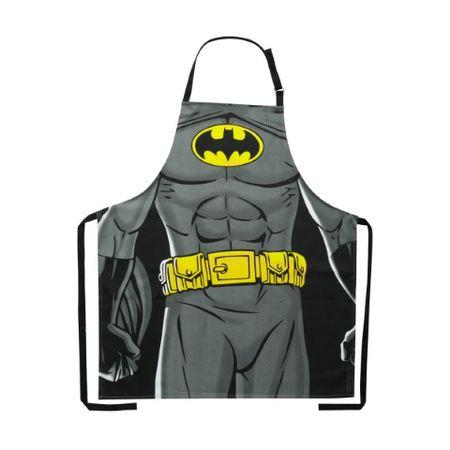 Avental de algodão preto Batman