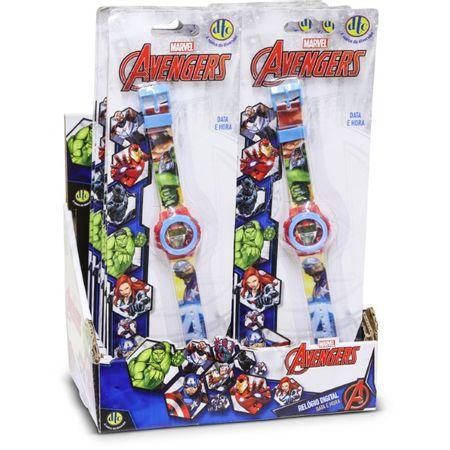 Avengers Relógio Digital Infantil LED