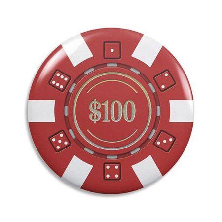"""Abridor de Garrafa """"Ficha de Poker"""""""