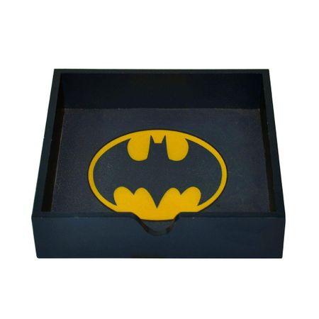 Porta Guardanapo Madeira Batman