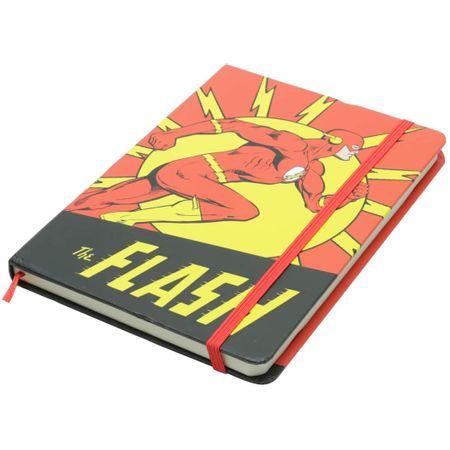 Caderneta de Anotações Flash Retrô DC Comics