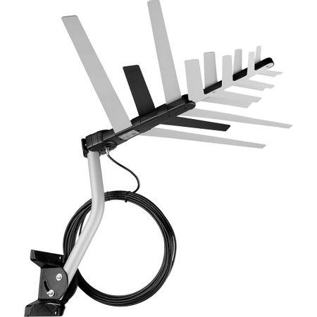 Antena Externa Digital 4 em 1 Cabo 16m - Aquário