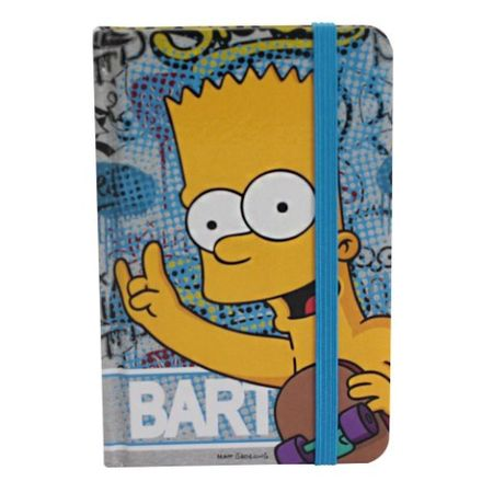 Caderneta de Anotações Bart Simpson