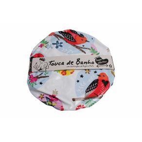 touca-banho-passaro-colorido