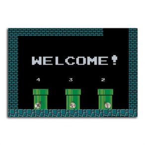 porta-chaves-welcome-mario
