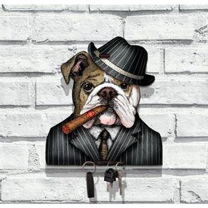 porta-chaves-bulldog-capone