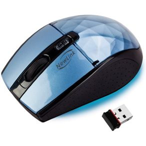 mouse-sem-fio-diamond-blue-newlink-ODER0262