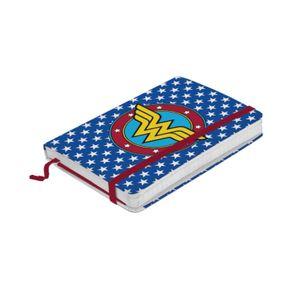 caderneta-anotacoes-mulher-maravilha-azul-dc-comics