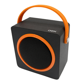 Caixa-de-Som-Bluetooth-Color-Box-OEX-Laranja