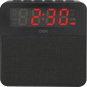 Caixa-de-Som-Bluetooth-e-Despertador-10W-OEX-Preto---ODER0533