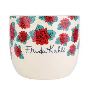 Cachepot-Ceramica-Beautiful-Flowers---Frida-Kahlo-URBA0148-1