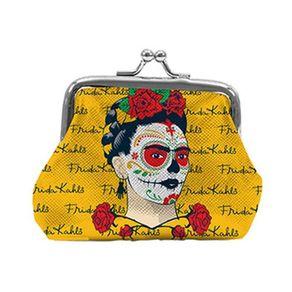 Porta-Moedas-em-PU-Face-and-Signs-Frida-Amarelo-URBA0157-1