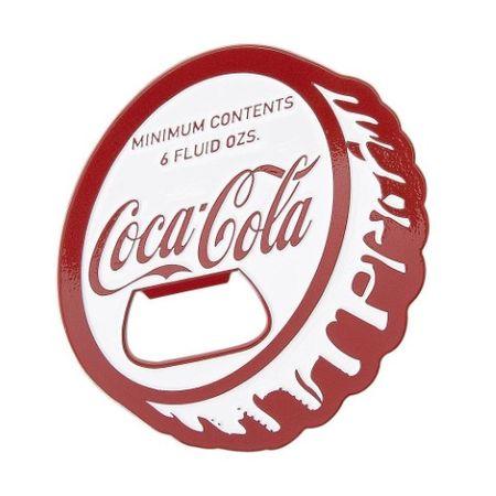 Abridor de garrafa tampinha Coca-cola