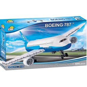 Blocos-para-Montar-Aviao-Boeing-787-com-600-Pcs-Cobi-1