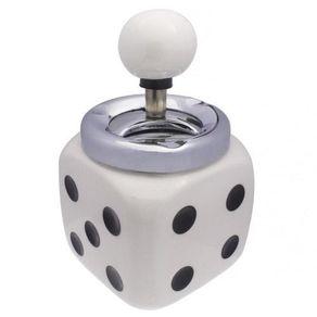 Cinzeiro-de-Mesa-Quadrado-em-Ceramica---Modelo-Dado-1