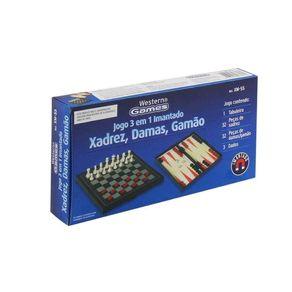 Jogo-xadrez-dama-gamao-3-em-1-Western-1
