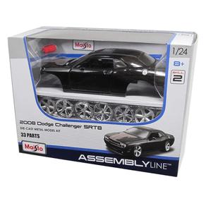 Kit-em-Metal-Dodge-Challenger-2008-SRT8-em-Esacala-1-24-Maisto-1