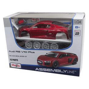 Kit-em-Metal-AUDI-R8-V10-Plus-em-Escala-1-24-Maisto-1