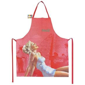 Avental-Coca-Cola-Pin-up-Blonde-Lady-Vermelho-1