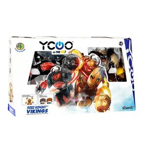 Robo-Kombat-Vikings-DTC-Boxeadores-com-Controle-Remoto-1
