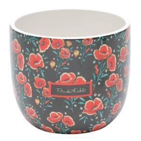 Cachepot-ceramica-flores-Frida-Kahlo-1