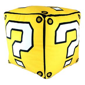 Almofada-Cubo-Super-Mario-Bros-Bloco-de-Interrogacao-Amarela-Fibra-1