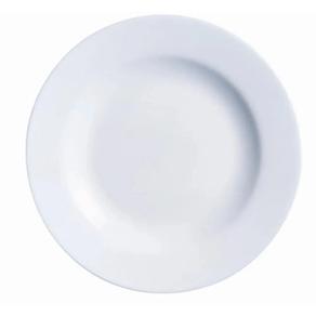 Conjunto-de-Pratos-Rasos-Evolution-27cm-Vidro-Temperado-Branco-6-Pecas