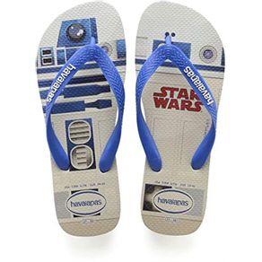 Chinelo-Havaianas-Star-Wars-R2D2-37-38-Branco-Azul-Estrela-1