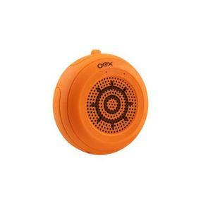 Caixa-de-Som-a-Prova-D-Agua-OEX-Speaker-Float-SK414-10W-Laranja-com-Microfone-Entrada-Micro-SD-1