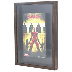 Quadro-Colecao-de-Tampas-Deadpool-Marvel-Comics-1