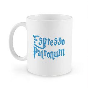 Caneca-Espresso-Patronum-320ml-Branca-e-Azul-Ceramica-1