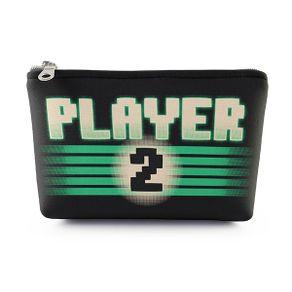 Necessaire-Player-2-Verde-19x14cm-Neoprene-com-Ziper-1