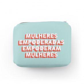 Bolsa-de-Medicamentos-Mulheres-Empoderadas-Neoprene-com-Ziper-1