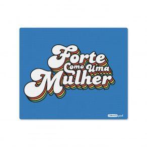 Mousepad-Forte-como-uma-Mulher-18x22cm-Colorido-Neoprene-1