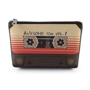Necessaire-Awesome-Mixtape-19x14cm-Neoprene-com-Ziper-1