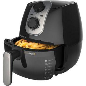 Fritadeira-Sem-Oleo-26L-Cadence-Air-Cook-Fryer-Preta-127V-1