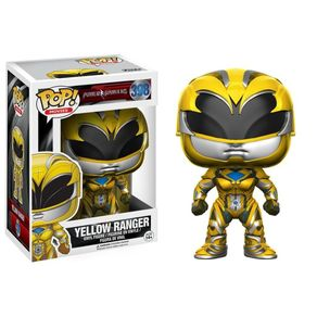 Funko-Pop-Movies-Power-Rangers-Amarelo-398-Yellow-Ranger-1