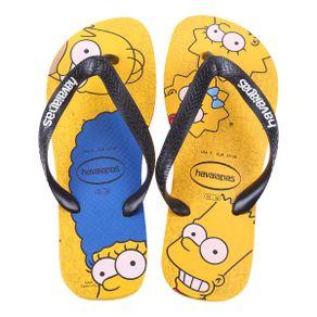 Chinelo-Havaianas-Simpsons-Amarelo-Banana-e-Preto