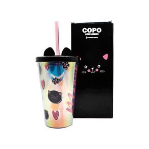 Copo-com-canudo-Gato-500-ml-Prata-com-orelhas-ZONA0663