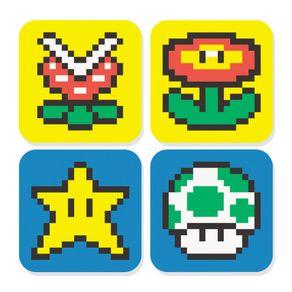 Porta-Copos-Mario-Fabrica-Geek-FBGK0090-1