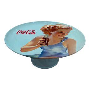 Prato-de-Bolo-Porcelana-Coca-cola-Pin-Up-Beach-28cm-CRAW0051-1