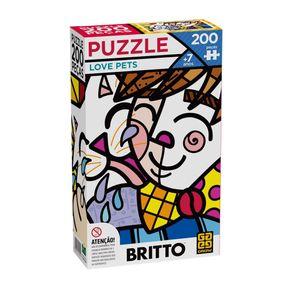 Quebra-Cabeca-Puzzle-Grow-Romero-Britto-Love-Pets-200-Pecas-GROW0052-1